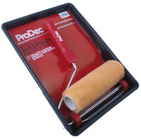 """ProDec 9 """"x 1.75"""" Australian Sheepskin Roller & Tray Kit Emulsion Paint PRRT014"""