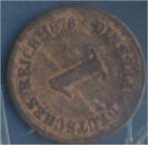 German-Empire-Jagerno-1-1876-B-fine-1-Pfennig-7849185