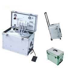 Mini Portable Dental Unit With 550w Built In Air Compressor Suction System 4h