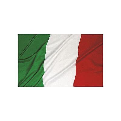 Intellective ★bandiera Dell'italia Con Asola Per Asta Tricolore Italiana Grande 150 X 90★