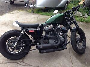 MCJ-Big-Short-Auspuff-Komplettanlage-fuer-Harley-Sportster-mit-EG-BE-bis-Bj-2016