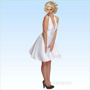 Peruecke-Kleid-Marilyn-Gr-38-42-VIP-fuer-Party-Monroe-Fans-Karneval-Marylin