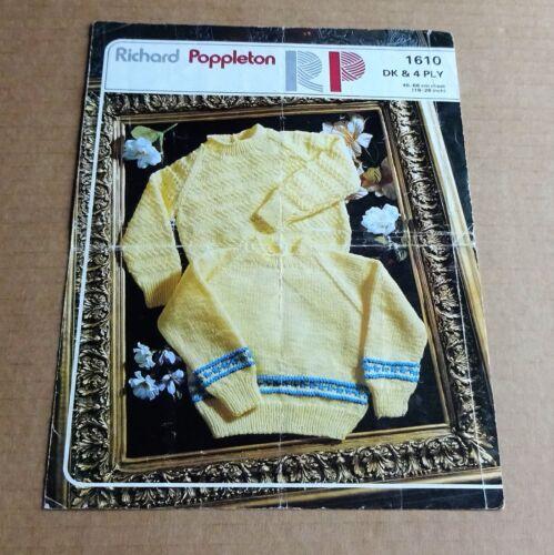 SELECTION OF STYLECRAFT//POPPLETON  BABY//LADIES//MEN/'S//KIDS  KNITTING PATTERNS