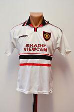 MANCHESTER UNITED ENGLAND KIDS 1997/1998/1999 AWAY FOOTBALL SHIRT JERSEY UMBRO