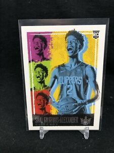 2018-19-COURT-KINGS-SHAI-GILGEOUS-ALEXANDER-LEVEL-III-3-ROOKIE-RC-NEW-TO-OKC-T12