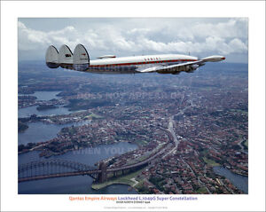 QANTAS-LOCKHEED-SUPER-CONSTELLATION-NORTH-SYDNEY-20-034-x-16-034-POSTER-PRINT-PICTURE