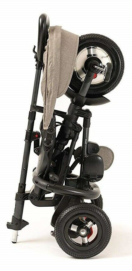 Rito Plus Air Tire Adjustable Compact Folding Trike Baby Stroller Grey NEW