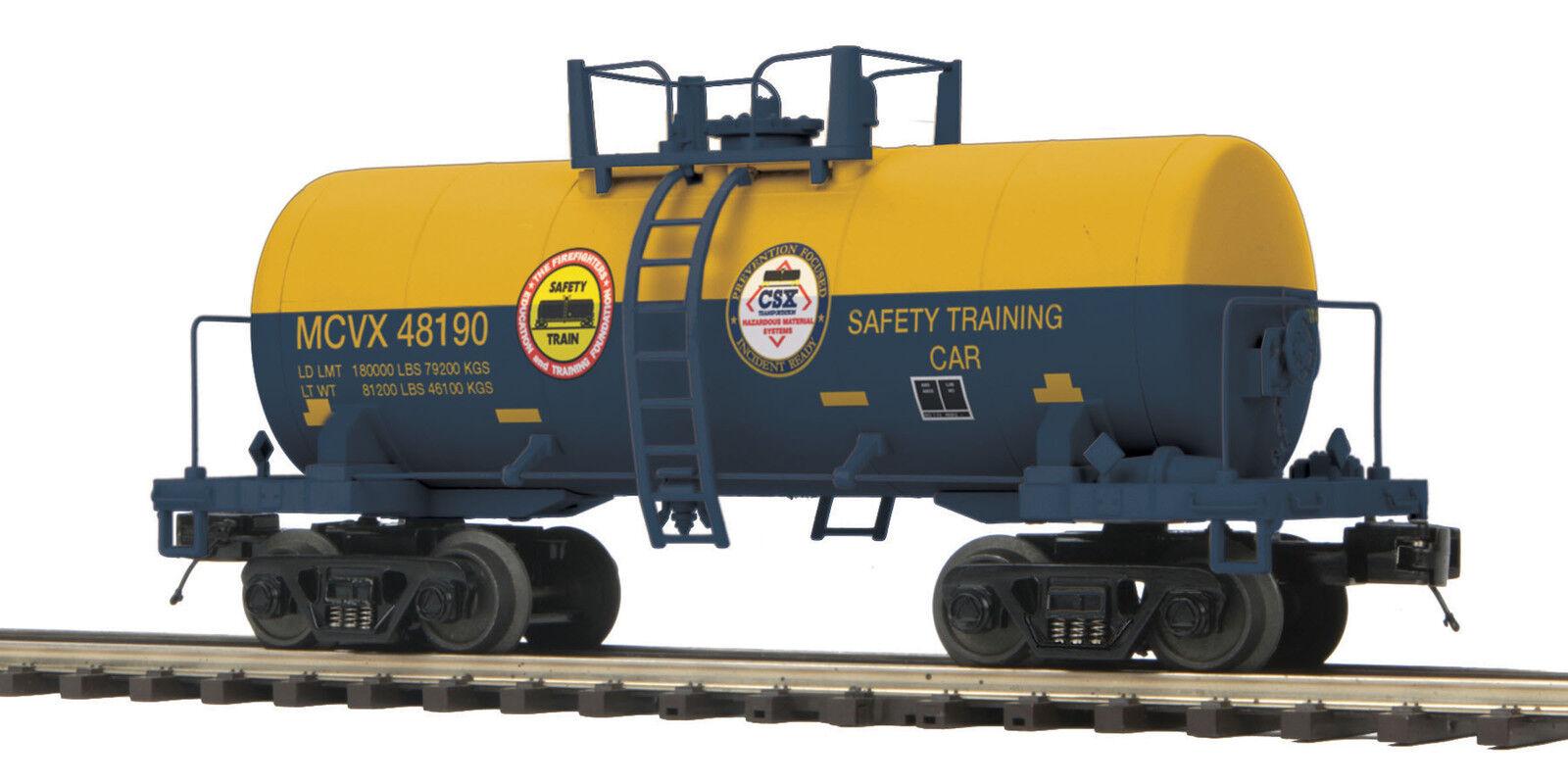 MTH Premier O Trains CSX 8000 Gallon Tank Car 20-96721