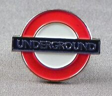 Metal Enamel Pin Badge Brooch London Underground Tube Train Transport