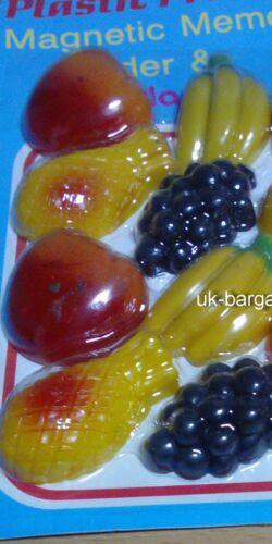 8 fridge decor strong memo magnets Fruit Shape Decoration best new