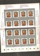 pk22208:Stamps-Canada #1241 Art Canada 16 x 50 cent Sheet - MNH