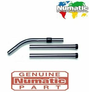 Numatic Genuine Stainless Steel 3 Piece Stainless Steel 32mm Tube Set 601053
