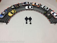Carrera Go!!! Steilkurve 4 x 2/45° 61646 NEU!! mit 2 Stützen