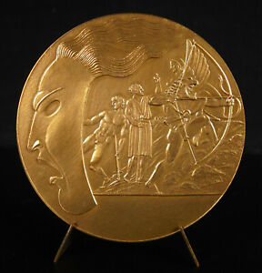 Medal-Sophocles-Winn-Pierre-Turin-Mask-Tragedy-Antique-Oedipus-80mm