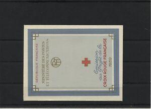 France-MH-Stamp-Booklet-1959-Mi-1270-1271-Mint-MNH