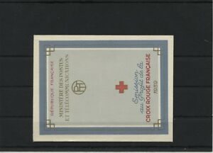 France-MH-Markenheftchen-1959-Mi-1270-1271-Neuf-MNH
