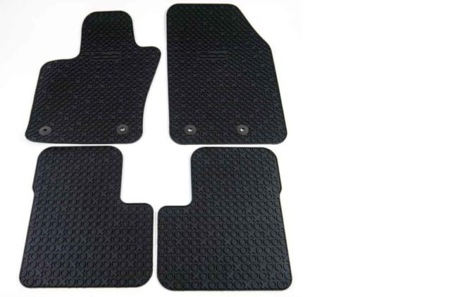 Fußmatten TOP Qualität FIAT 500X ab 2014 Gummifußmatten passgenau