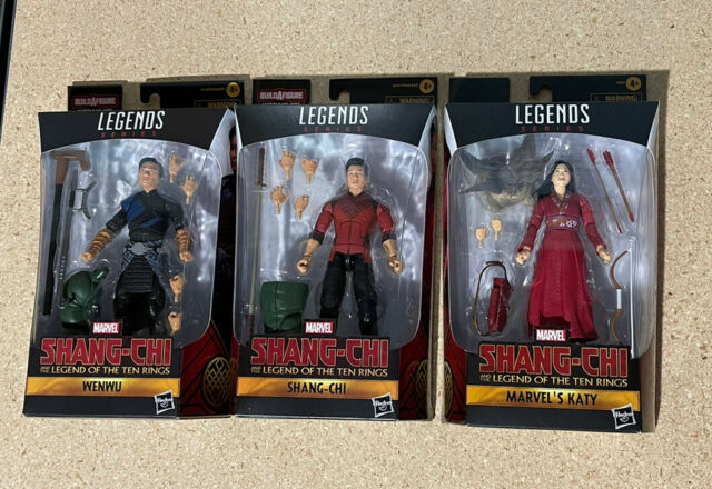 Marvel Legends Series Shang Chi, Wenwu, Katy (target Exclusive) Hot🔥