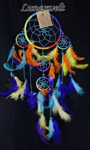 Indianer Traumfänger Dreamcatcher Rainbow 12 cm Durchmesser