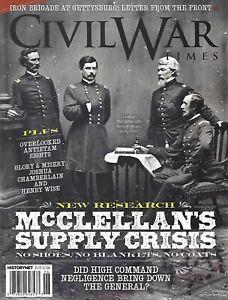 Civil-War-Times-Magazine-McClellan-039-s-Supply-Crisis-Joshua-Chamberlain-Antietam