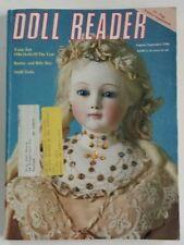 Doll Reader Magazine September 1986 Barbie Billy Boy Steiff Pin Cushion 1/2 Doll