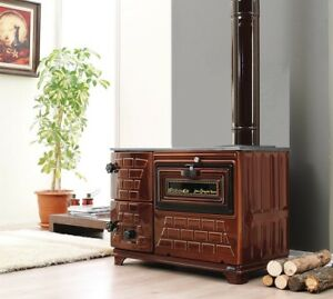 Indoor Outdoor Wood Burning Cast Iron Pizza Oven Amp Stove And Grill Ebay