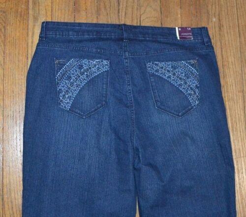Gloria Vanderbilt Jordyn Capri Cropped Jeans Capris All Around Slimming Effect
