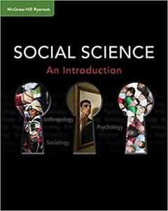 Social Science An Introduction Student Text Canada Preview