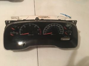 Image Is Loading 97 2000 Dodge Durango Instrument Cer Sdometer Tach