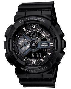 Casio G Shock *GA110-1B Anadigi Gshock Watch Matte Black XL COD PayPal