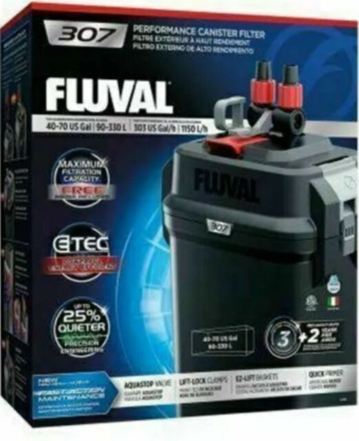 Fluval 307 40-70 Gal Performance Canister Filter New Sealed