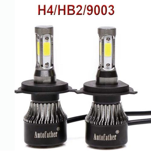 Super Bright 6500K LED Headlight Bulbs H4 H7 H10 9003 9005 9006 HB2 HB3 H13 9008