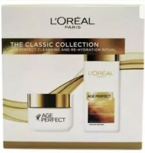L-039-Oreal-Paris-Age-Perfect-Gift-Set-for-Her-039-Classic-Collection-039-Day-Cream-amp-Milk