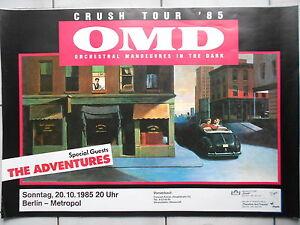 O M D 1985 BERLIN orig.Concert-Konzert-Tour-Poster-Plakat DIN A 1 - Dreieich, Deutschland - O M D 1985 BERLIN orig.Concert-Konzert-Tour-Poster-Plakat DIN A 1 - Dreieich, Deutschland