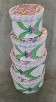 Happy Birthday Gift Money Hat Box Set Of 4 Boxes Hard To Find Unusual