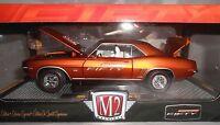 M2 1969 Chevrolet Camaro Ss 396 Orange Camaro Fifty 1:24 Scale Walmart