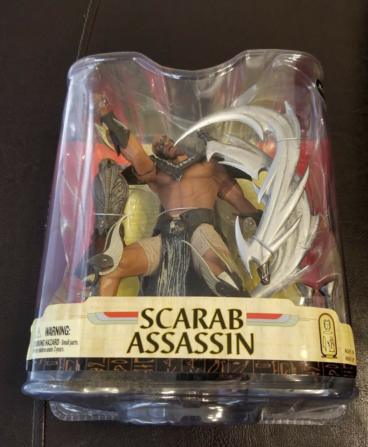 New 2008 2008 2008 Scarab Assassin Figure 6  Spawn Age Of Pharaohs Series 33 Mcfarlane a0d82f