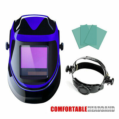 Welding Helmet Arc Tig Mig Mask Grinding Hood Headgear Flip Front Adjustable Fit