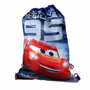 Disney Pixar® Cars 3 Junior DrawString Bag Boys Back To School Ages 3+ Yrs