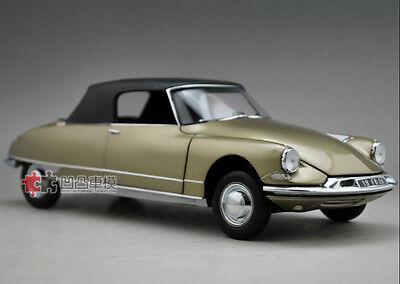 NO 181598 Citroën DS 19 Cabriolet 1961 Pearl Grey Chapron  NOREV Ech 1//18