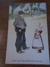 Dutch Postcard colour 1920 BOER VAN ZUID BEVELAND Zealand Holland Netherlands