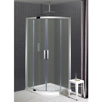 Simpsons 1000 x 1000mm Two Door Quadrant Shower Enclosure Cubicle