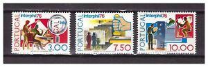 S23966-Portugal-1976-MNH-Interphil-3v