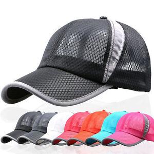Unisex-Herren-Damen-Basecap-Trucker-Kappen-Muetze-Baseballcap-Sport-Hut-Sommer