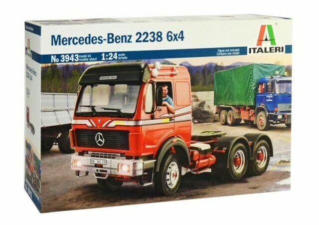 MERCEDES BENZ 2238 6x4 3943 Truck   ITALERI 1:24  New!