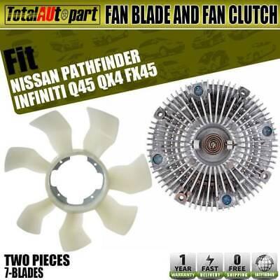 New Fan Clutch for 03-08 Infiniti//Nissan FX45 Q45 Pathfinder 4.5L 4.1L 3.5L