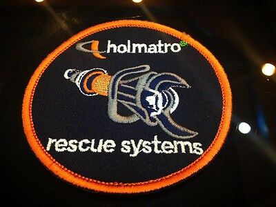 Holmatro Jaws of Life Rescue Systems Patch