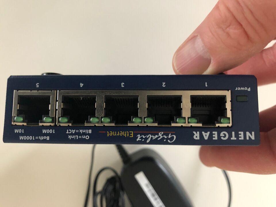 Switch, Netgear, Perfekt
