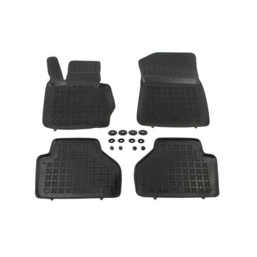 Schwarz Fußmatten F26 Gummi BMW X4 4 Stück ab 2014