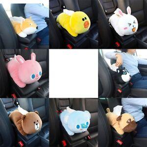 Cartoon-Bear-Car-Accessories-Seat-Back-Cover-Holder-Paper-Napkin-Box-Tissue-Box